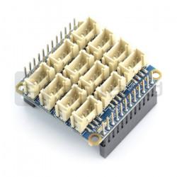 NanoHat HUB - płytka rozszerzeń dla NanoPi