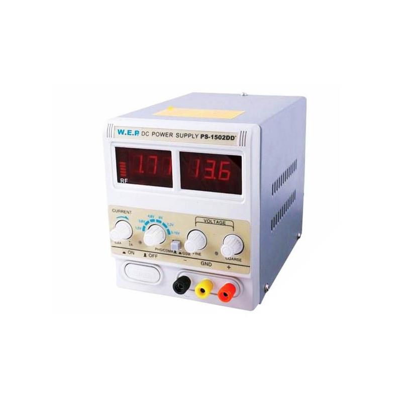 Zasilacz laboratoryjny WEP PS-1502DD+ 15V 2A