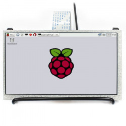 "LCD screen IPS 7"" 1024x600px DPI for Raspberry Pi 3/2/Zero/Zero In"