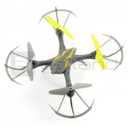 Dron quadrocopter OverMax X-Bee drone 2.4 2.4GHz z kamerą HD - 32cm + dodatkowy akumulator