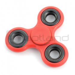 Hand Spinner - zabawka antystresowa - czerwona