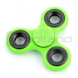 Hand Spinner - zabawka antystresowa - zielona