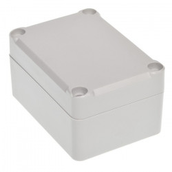 Plastic box Kradex Z96JS ABS with gasket and bushings - 70x50x37mm grey