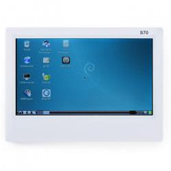 Ekran dotykowy rezystanacyjny S70 LCD 7'' 800x480px dla NanoPi