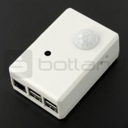 Obudowa biała do RaspberryPi, kamery i czujnika ruchu PIR SPI-BOX