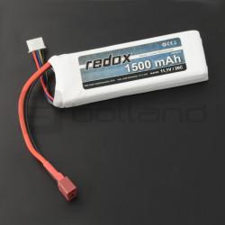 Pakiet Li-Pol Redox 1500 mAh 11,1V 20C