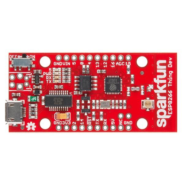 SparkFun Thing - Dev Board - moduł WiFi ESP8266 - Sklep