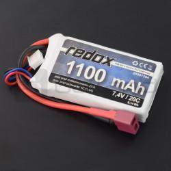 Pakiet Li-Pol Redox 1100 mAh 7.4V 20C