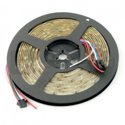 Pasek LED RGB WS2813 - cyfrowy, adresowany - 30 LED/m, 9W/m, 5V - 5m