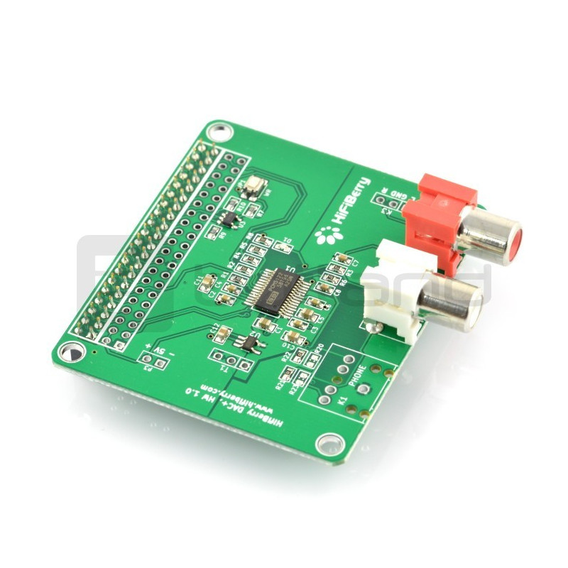 HiFiBerry DAC+ RCA - nakładka do Raspberry Pi