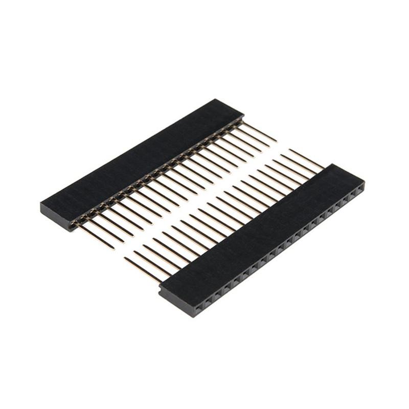 Zestaw złącz dla ESP32 Thing - 2x 1x20 raster 2,54mm
