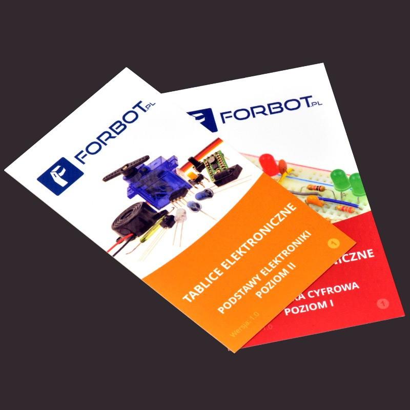 FORBOT - zestaw tablic – Elektronika II + Technika Cyfrowa