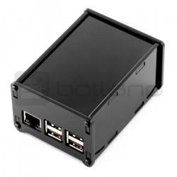 Obudowa do HiFiBerry Digi+, DAC+ RCA i Raspberry Pi Model 3/2/B+ - czarna