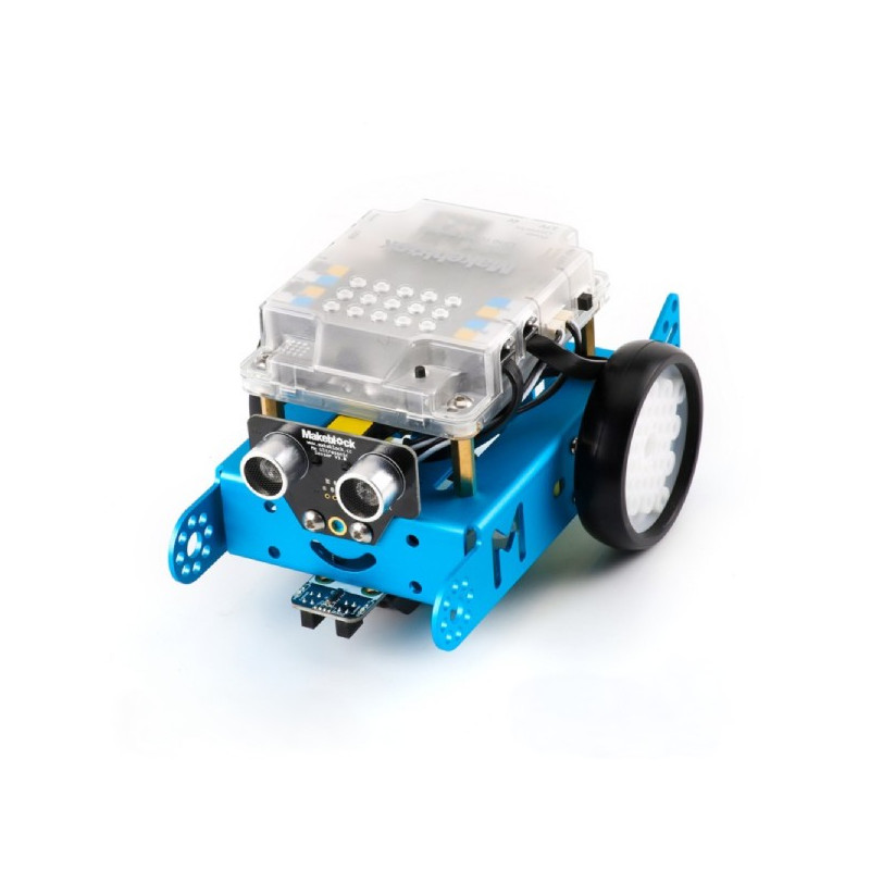 MakeBlock 90053 - robot mBot 1.1 Bluetooth STEM - zgodny z Arduino i Scratch - niebieski