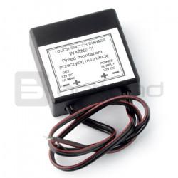 Dotykowy włącznik / wyłącznik zasilania taśm LED - do płyty meblowej