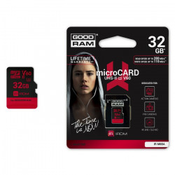 Goodram IRDM- karta pamięci microSD 32GB 280 MB/s UHS-II + adapter
