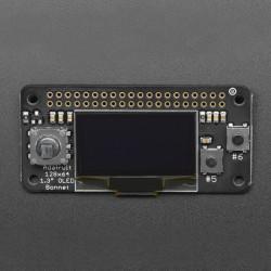 Adafruit Bonnet - wyświetlacz OLED 128x64px z joystickiem i przyciskami dla Raspberry Pi