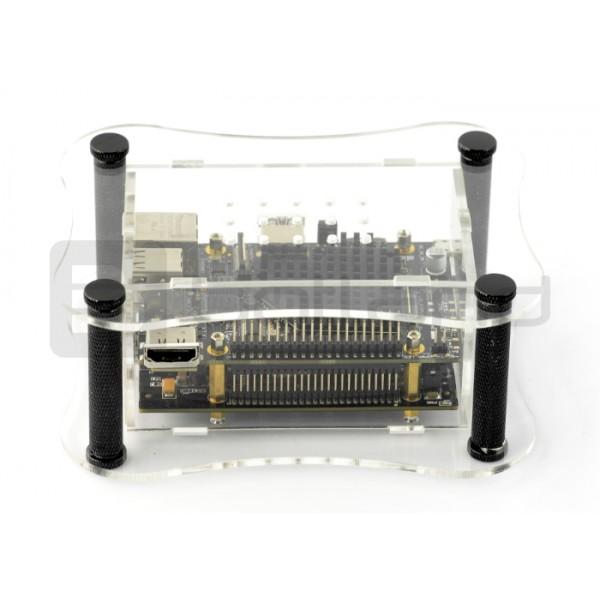 Sparky USBridge - cyfrowy przekaźnik dźwięku + adapter eMMC + przezroczysta  obudowa