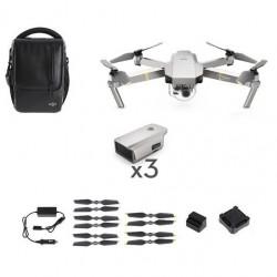Dron quadrocopter DJI Mavic Pro Platinum Combo - zestaw