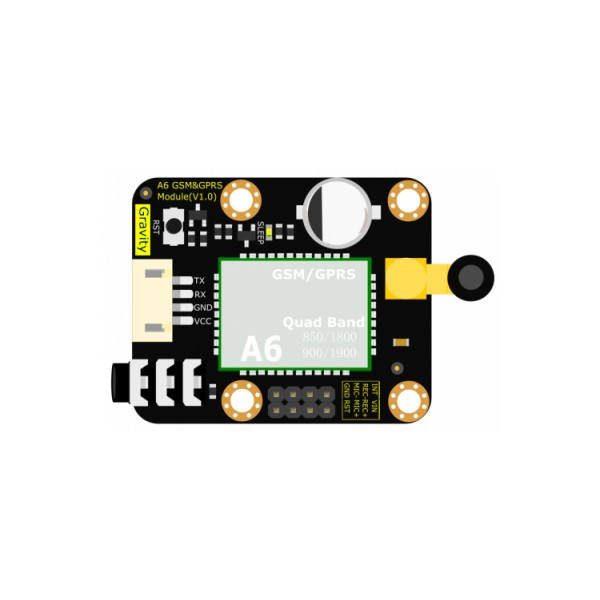 DFrobot Gravity UART A6 - GSM and GPRS module*