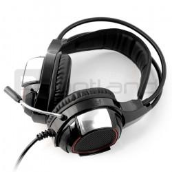 Słuchawki stereo z mikrofonem - Tracer Battle Heroes Captain