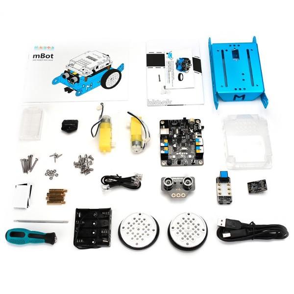 MakeBlock 90109 - robot mBot 1 1 2,4GHz STEM - zgodny z Arduino i Scratch -  różowy