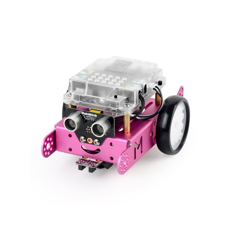MakeBlock 90109 - robot mBot 1.1 2.4GHz STEM - compatible with Arduino and Scratch - pink_
