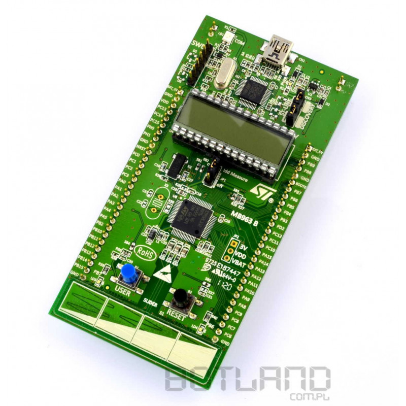 STM32L - Discovery microcontroller