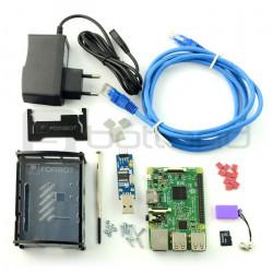 FORBOT - zestaw Raspberry Pi + darmowy kurs ON-LINE - Przedsprzedaż