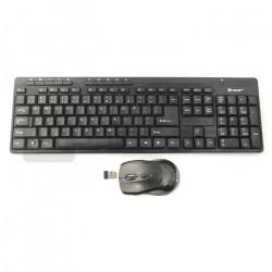 Zestaw bezprzewodowy Tracer BlackJack RF nano USB klawiatura + mysz