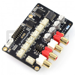 Relay Attenuator - przekaźnikowy tłumik głośności - 64-kroki