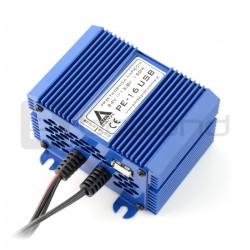 Przetwornica elektroniczna step-down AZO Digital PE-16 USB 24/12V + USB 150W