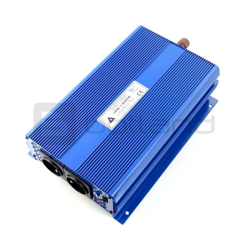 Przetwornica DC/AC step-up AZO Digital IPS-1500S 24/230V 1500W