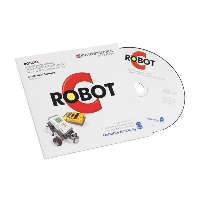 RobotC 3.0 software - Lego Mindstorms NXT - 6 positions