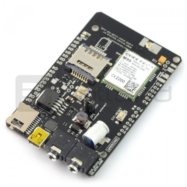 A-II GSM Shield, GSM/GPRS/SMS/DTMF v 2 105 - for Arduino and Raspberry Pi -  assembled*