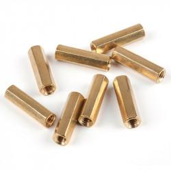 MakeBlock - dystans mosiężny M4x20 - 10szt.