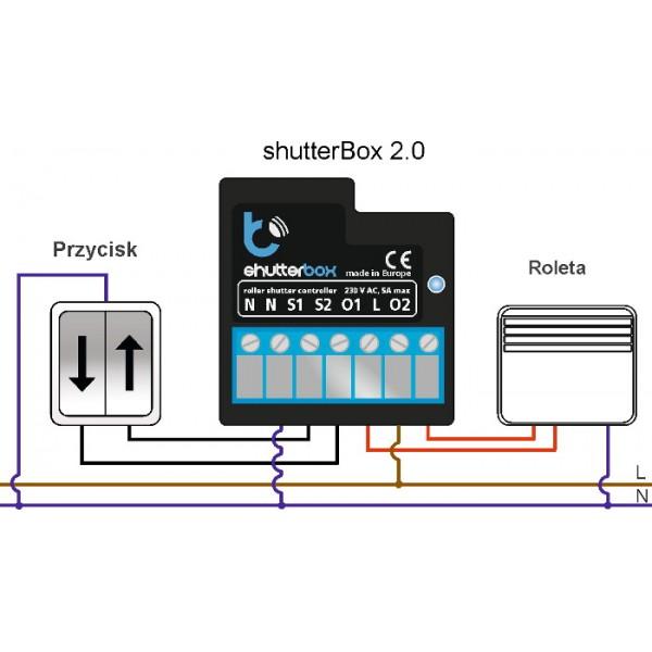 blebox shutterbox v20 sterownik rolet 230v wifi aplikacja android ios blebox shutterbox v2 0 sterownik rolet 230v wifi aplikacja  at eliteediting.co