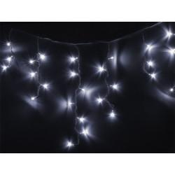Lampki choinkowe LED - białe zimne - 96szt.- sople