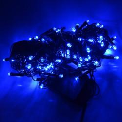 Lampki choinkowe LED - niebieskie - 100szt.