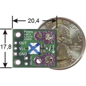 Wyprowadzenia modułu z czujnikiem prądu ACS714