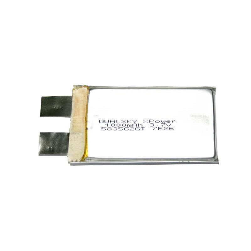 Dualsky LiPol cell 1300mAh 25C 1S 3,7V