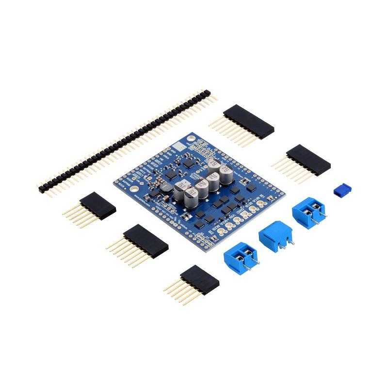 Pololu Dual G2 High-Power 24v14 - dwukanałowy sterownik silników 40V/14A - Shield dla Arduino