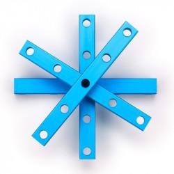 MakeBlock 60516 - belka 0808-072 - niebieski - 4szt.