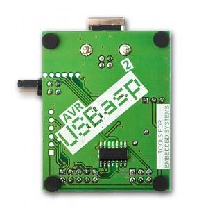 Programator mikokontrolerów z rodziny AVR firmy Atmel zgodny z USBasp