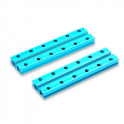 MakeBlock 60022 - belka ślizgowa 0824-096 - niebieski - 2szt.