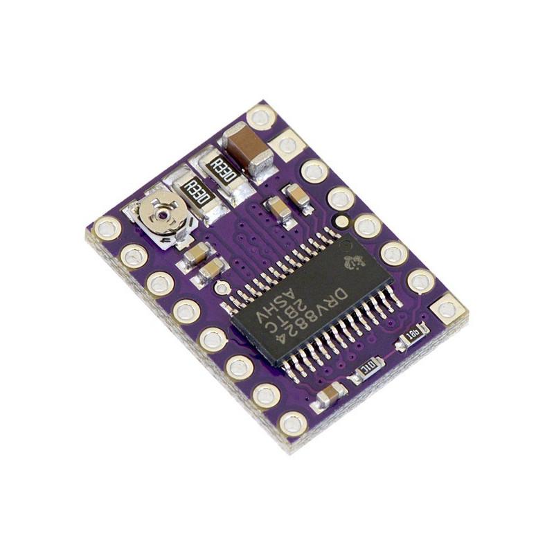 Stepper motor controller DRV8824 45V 1.2A