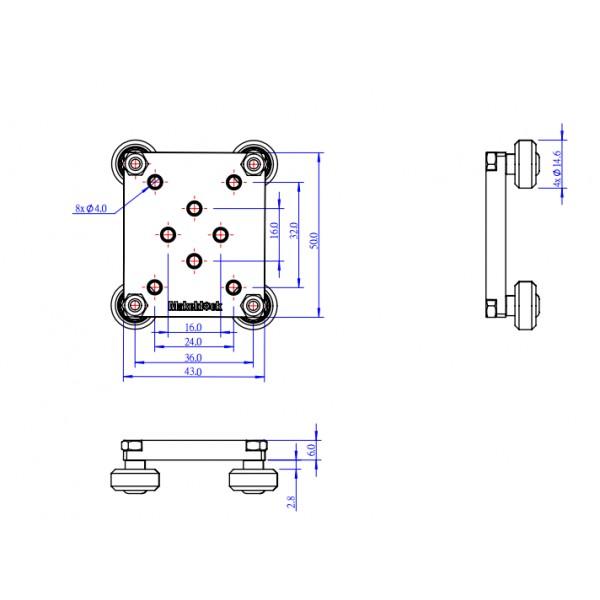 MakeBlock 86062 - sliding plate_ on