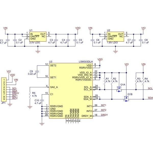Arduino library for Pololu LSM303 boards - DevHubio