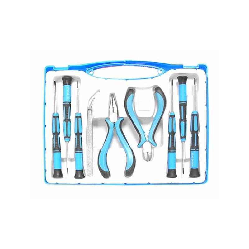 Komplet podstawowych narzędzi warsztatowych