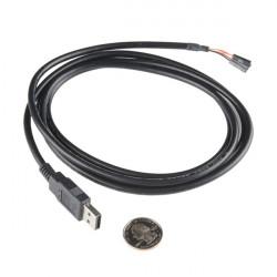 Przejściówka USB na przewody żeńskie z konwerterem FT232